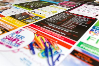 Selection of Printed Leaflets