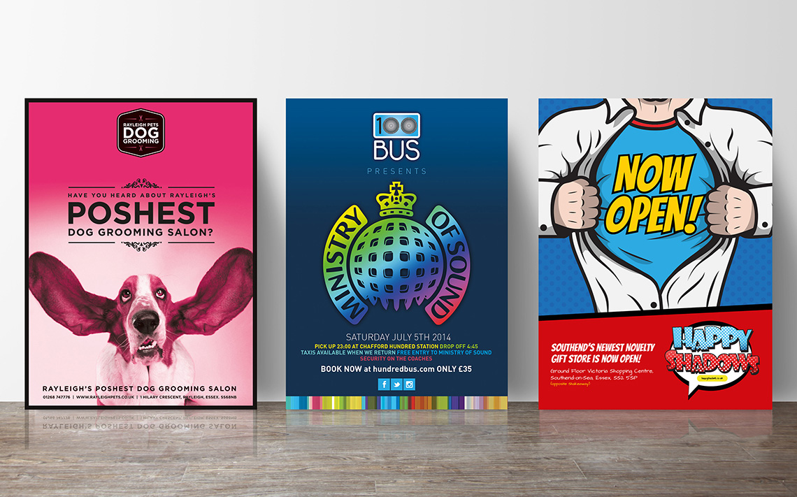 Selection of Printed Posters